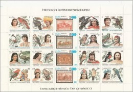 Cuba 2789/2808 ** Historia. 1987. Plegado - Cuba
