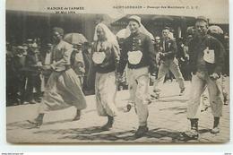 SAINT-GERMAIN - Marche De L'Armée 29 Mai 1904 - Passage Des Marcheurs - St. Germain En Laye