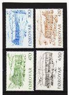 POL1851 DÄNEMARK - FÄRÖER 1987  Michl 145/48 Postfrisch SIEHE ABBILDUNG - Färöer Inseln