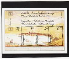 POL1852 DÄNEMARK - FÄRÖER 1986  Michl BLOCK 2 Postfrisch SIEHE ABBILDUNG - Färöer Inseln