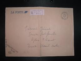 LR LA POSTE OBL.3-6 1991 70 TERNAY-MELAY-ET-ST HILAIRE HAUTE-SAONE + GRIIFE - Storia Postale