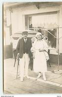 Carte-Photo - LE TREPORT - Couple Sur Une Terrasse - Le Treport