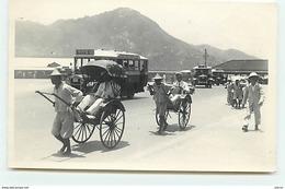 HONGKONG - Hommes Tirant Des Pousse Pousse - China (Hong Kong)