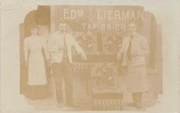 Edm Lierman Tapissier Fotokaart Blankenberghe - Blankenberge
