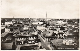 SANTA FE -VISTA GENERAL-REAL PHOTO-VIAGGIATA 1931 - Argentina