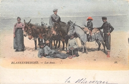 Les Anes  Blankenberghe  1919 - Donkey - Blankenberge