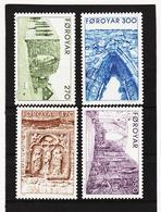 POL1859 DÄNEMARK - FÄRÖER 1988  Michl 175/78 ** Postfrisch SIEHE ABBILDUNG - Färöer Inseln