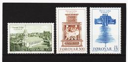 POL1860 DÄNEMARK - FÄRÖER 1989  Michl 179/81 ** Postfrisch SIEHE ABBILDUNG - Färöer Inseln
