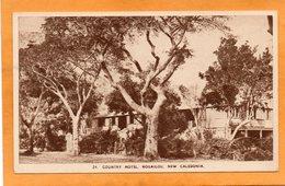 Country Hotel Houailou New Caledonia 1940 Postcard - New Caledonia