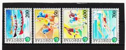 POL1862 DÄNEMARK - FÄRÖER 1989  Michl 186/90 ** Postfrisch SIEHE ABBILDUNG - Färöer Inseln