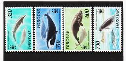 POL1864 DÄNEMARK - FÄRÖER 1990  Michl 203/06 ** Postfrisch SIEHE ABBILDUNG - Färöer Inseln