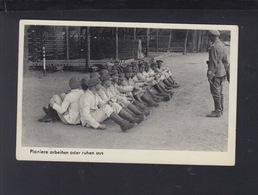 Dt. Reich AK Pioniere Arbeiten Oder Ruhen Aus Feldpost 1940 - Weltkrieg 1939-45