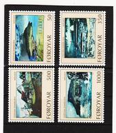 POL1865 DÄNEMARK - FÄRÖER 1990  Michl 207/10 ** Postfrisch SIEHE ABBILDUNG - Färöer Inseln