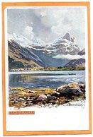 Romsdalshorn Norway 1905 Postcard - Norway