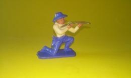 FIGURINE COWBOY Tireur A Genou Carabine CLAIRET - Army