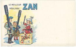 Cpa Publicitaire - Réglisse Zan, Signée Ogé, Paul Aubrespy à Uzès - Publicité
