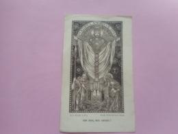 DEVOTIE-PONTIFIX AMORIS VICTIMA 12,00 OP 7,50CM - Godsdienst & Esoterisme