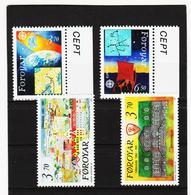 POL1868 DÄNEMARK - FÄRÖER 1991  Michl 215/18 ** Postfrisch SIEHE ABBILDUNG - Färöer Inseln