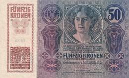 Austria 50 Kronen 1914, UNC - Austria