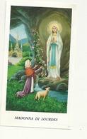 Immaginetta  Santino    Lourdes   Preghiera - Godsdienst & Esoterisme