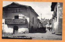 Cuzco Peru 1940 Real Photo Postcard - Peru