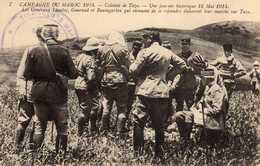 CAMPAGNE DU MAROC - 118 2 - Colonne De Taza- Une Journée Historique 16 Mai 1914- Les Généraux Lyautey, Gouraud ..... - Autres