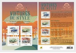 France 2019 - Stamp Day 2019 - Stylish Cars - Grand Palais - Collectible Sheet Mnh - Francia