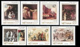Vietnam 1989  YT 989-995 ; Mi# 2065-71  (*) MNG - Vietnam