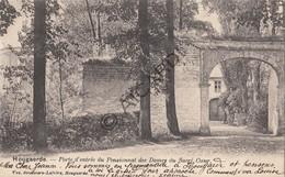 Postkaart/Carte Postale HOEGAARDEN Porte D'Entrée Du Pensionnat Des Dames Du Sacré Coeur   (C497) - Hoegaarden