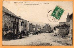 Malandry France 1912 Postcard - France