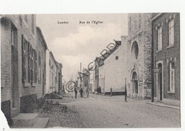 Postkaart/Carte Postale LANDEN Rue De L'Eglise  (C420) - Hoegaarden