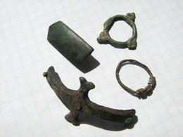 Ancient Vikings Bronze Artifacts 9-13 Century - Archaeology