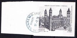 Italia 2019 - 800° Anniv. Abbazia S. Andrea Di Vercelli - 6. 1946-.. Repubblica