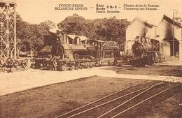 CONGO Belge- Chemin De Fer Du Katange Serie 5 Nr 5 - Autres