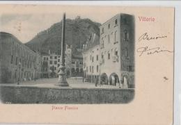 Cartolina - Postcard / Viaggiata - Sent /  Vittorio, Piazza Flaminia. - Treviso