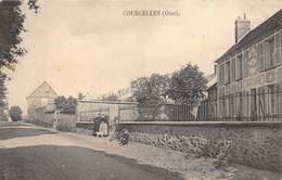 60-COURCELLES- CAFE - France