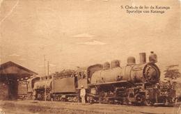 CONGO Belge -Chemin De Fer Du Katanga 5 - STEAMTRAIN - Autres