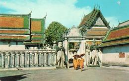 WAT PHO-BANGKOK-THAILAND-NON VIAGGIATA - Thailand