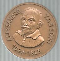 Modena 1985, Alessandro Tassoni 1566 - 1635, 350° Della Morte, Circolo Filatelico Tassoni, Ae. Gr. 11, Cm. 3. - Italia