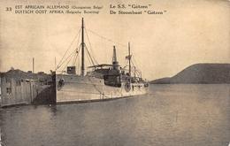 Est Africain Allemand Le SS Götzen 33 - Burundi