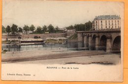 Roanne France 1905 Postcard - Roanne