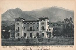 PRADES Le Chateau Val-Roc Et Le Massif Du Canigou 483L - Prades