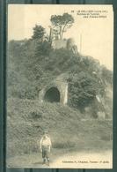 44 - LE CELLIER - Ruines Et Tunnel Des Folies Siffait - GARCON EN 1er PLAN - Le Cellier
