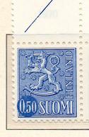 PIA - FINLANDIA - 1970 : Uso Corrente - Leone Rampante - Nuova Moneta   - (Yv 541AB II) - Neufs