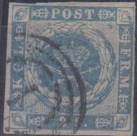 Danimarca 1854 2 S. Michel  N.3 Us Vedere Scansione - Usati