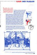 """"""" SAVATE BOXE FRANCAISE """" Sur Document Philatélique Officiel De 2013  N° YT 4831. Parfait état. DPO - Boxe"""