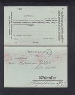 Bayern Drucksache 1910 München Franko Bezahlt - Bayern (Baviera)