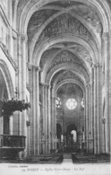 POISSY Eglise Notre Dame La Nef 6(SCAN RECTO VERSO)MA158 - Poissy
