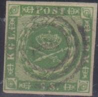 Danimarca 1854 8 S. Michel  N.5 Us Vedere Scansione - Usati