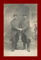 Carte Photo * Soldat Militaire * Au Mans - Oorlog, Militair